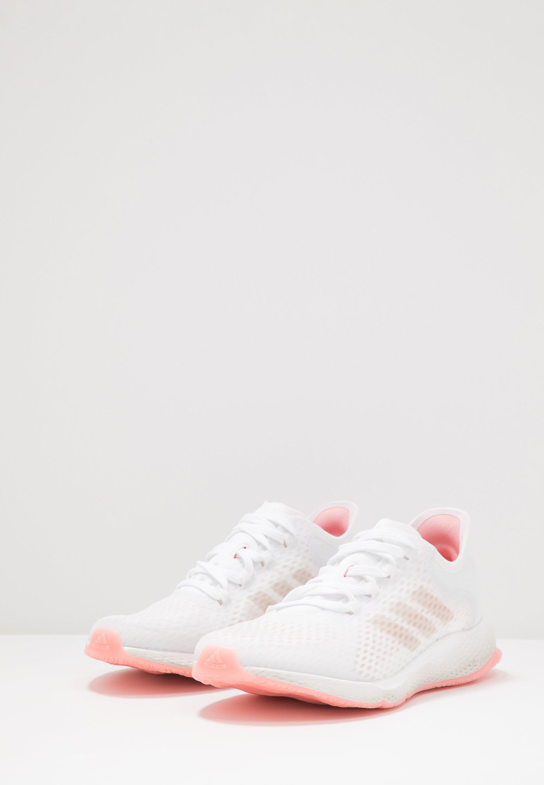 Adidas Performance Focus Breathe In - Nøytrale Løpesko Footwear White/glow Pink