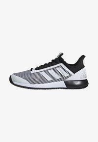 adidas Performance - DEFIANT BOUNCE 2.0 SHOES - Clay court tennissko - black - 1