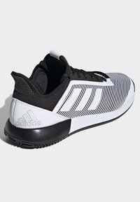 adidas Performance - DEFIANT BOUNCE 2.0 SHOES - Clay court tennissko - black - 4
