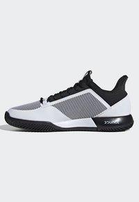 adidas Performance - DEFIANT BOUNCE 2.0 SHOES - Clay court tennissko - black - 7