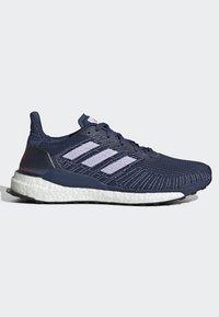 adidas Performance - SOLARBOOST 19 SHOES - Obuwie do biegania Stabilność - blue/purple/orange - 6