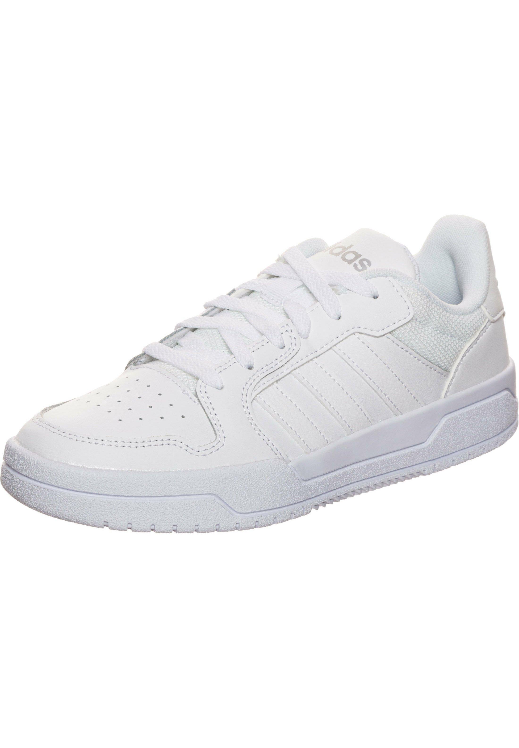 Adidas Performance Entrap - Chaussures De Basket White/metallic Silver