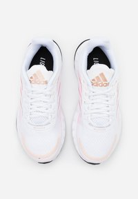 adidas Performance - DURAMO CLASSIC LIGHTMOTION RUNNING SHOES - Obuwie do biegania treningowe - footwear white/signal pink - 3