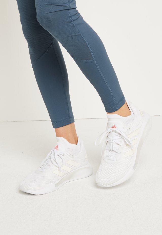 GALAXAR RUN - Neutrala löparskor - footwear white/grey