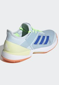 adidas Performance - UBERSONIC 3 HARD COURT SHOES - Clay court tennis shoes - blue - 5