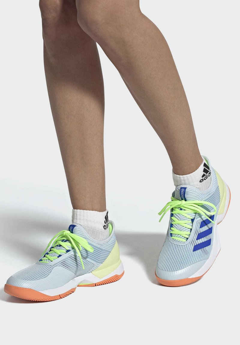 adidas Performance - UBERSONIC 3 HARD COURT SHOES - Clay court tennis shoes - blue