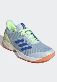 adidas Performance - UBERSONIC 3 HARD COURT SHOES - Clay court tennis shoes - blue - 4