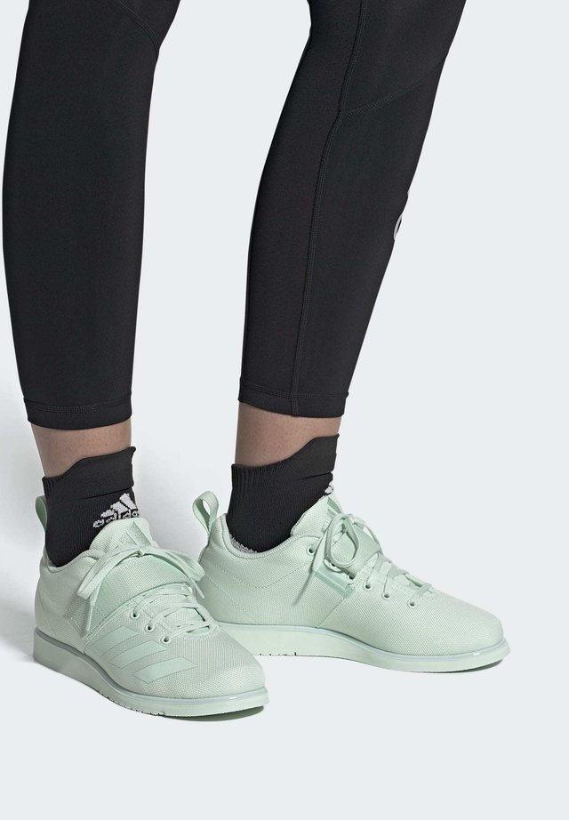 POWERLIFT 4 SHOES - Sneakers - green