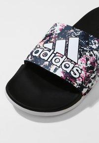adidas Performance - ADILETTE COMFORT - Sandály do bazénu - black - 5