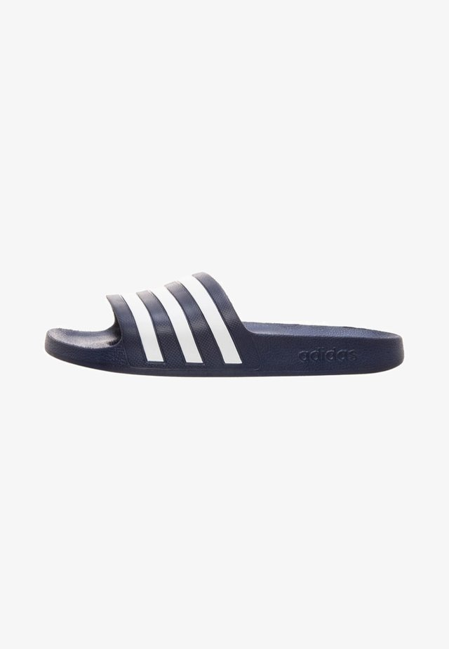 Pool slides - dark blue