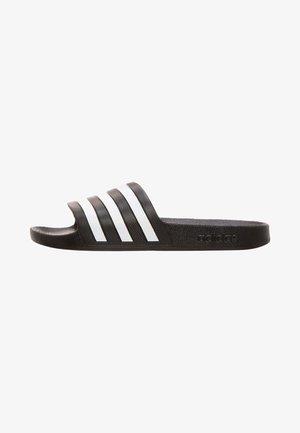 Pool slides - black/white