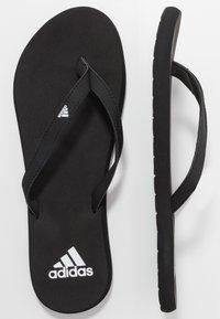 adidas Performance - EEZAY  - Flip Flops - core black/footwear white - 1