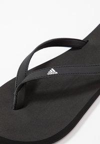 adidas Performance - EEZAY  - Flip Flops - core black/footwear white - 5