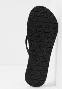 adidas Performance - EEZAY  - Flip Flops - core black/footwear white - 4