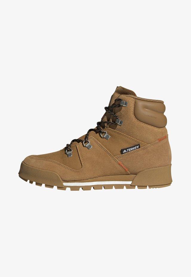 TERREX SNOWPITCH CLIMAWARM BOOTS - Snowboots  - brown