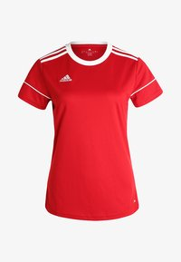 adidas Performance - CLIMALITE PRIMEGREEN JERSEY SHORT SLEEVE - Print T-shirt - power red/white - 4