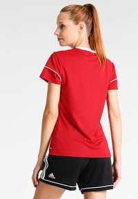 adidas Performance - CLIMALITE PRIMEGREEN JERSEY SHORT SLEEVE - Print T-shirt - power red/white - 2