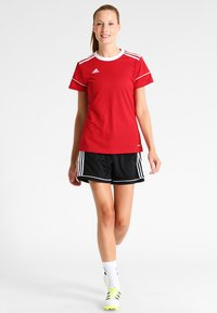 adidas Performance - CLIMALITE PRIMEGREEN JERSEY SHORT SLEEVE - Print T-shirt - power red/white - 1