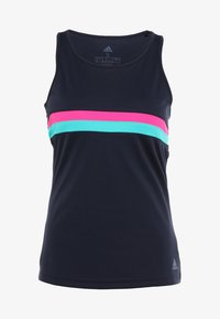 adidas Performance - CLUB TANK - T-shirt sportiva - legend ink