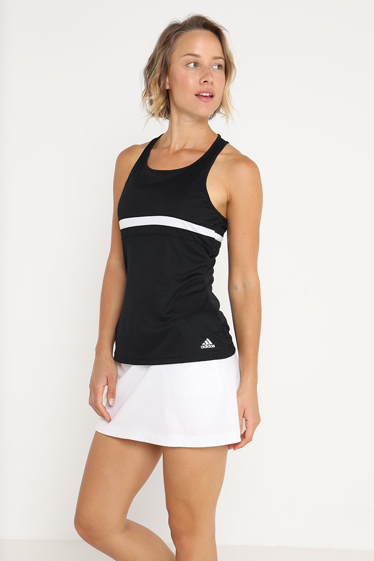 adidas Performance - CLUB TANK - Camiseta de deporte - black