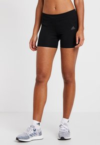 adidas Performance - TIGHT - Korte sportsbukser - black - 0