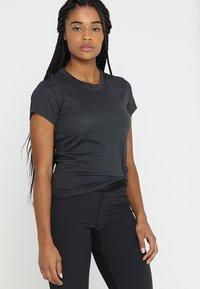 adidas Performance - TERREX TIVID - Camiseta de deporte - carbon - 0