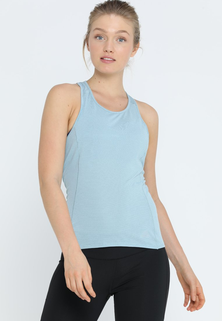 adidas Performance - SUPERNOVA TANK - Funktionsshirt - ash grey