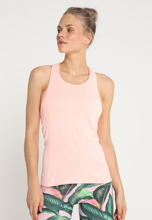 SUPERNOVA TANK - Sports shirt - cleaer orange/chalk coral