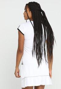 adidas Performance - CLUB TEE - Print T-shirt - white - 2