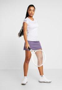 adidas Performance - CLUB TEE - Camiseta estampada - purple - 1