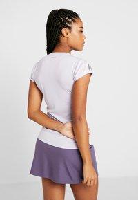 adidas Performance - CLUB TEE - Camiseta estampada - purple - 2
