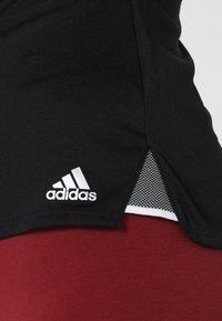 adidas Performance - CLUB TEE - Print T-shirt - black - 6