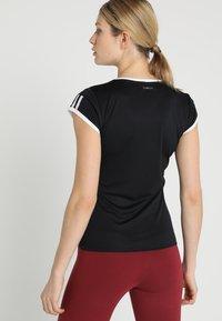 adidas Performance - CLUB TEE - Print T-shirt - black - 2