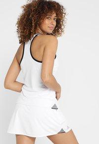 adidas Performance - CLUB TANK - T-shirt de sport - white - 2