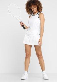 adidas Performance - CLUB TANK - T-shirt de sport - white - 1
