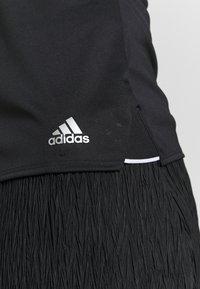 adidas Performance - CLUB TANK - Sports shirt - black/silver/white - 5