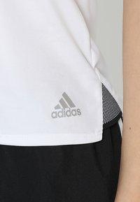 adidas Performance - CLUB - T-shirt sportiva - white - 5