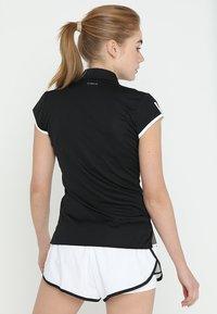 adidas Performance - CLUB - Sportshirt - black - 2