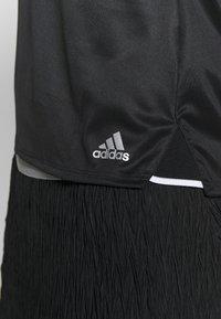adidas Performance - CLUB - Funkční triko - black/silver/white - 6