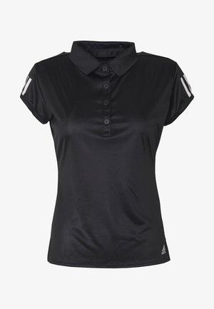 CLUB - Sports shirt - black/silver/white