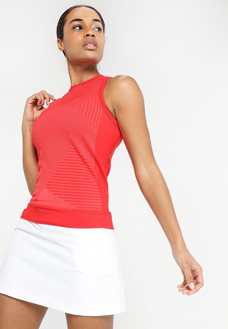 adidas Performance - TANK - Top - scarlet