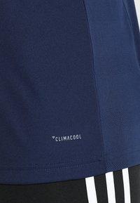 adidas Performance - TEAM 19 - T-shirt imprimé - navy blue/white - 5