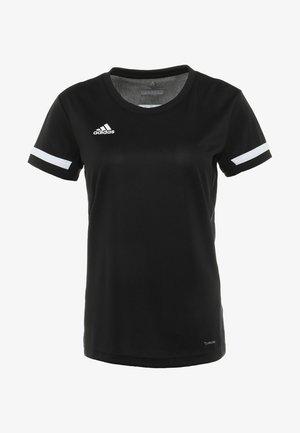 TEAM 19 - T-shirts med print - black/white
