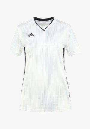 TIRO 19 JSY W - Print T-shirt - white/black