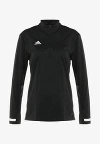 adidas Performance - Sports shirt - black/white - 4