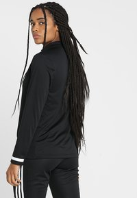 adidas Performance - Sports shirt - black/white - 2