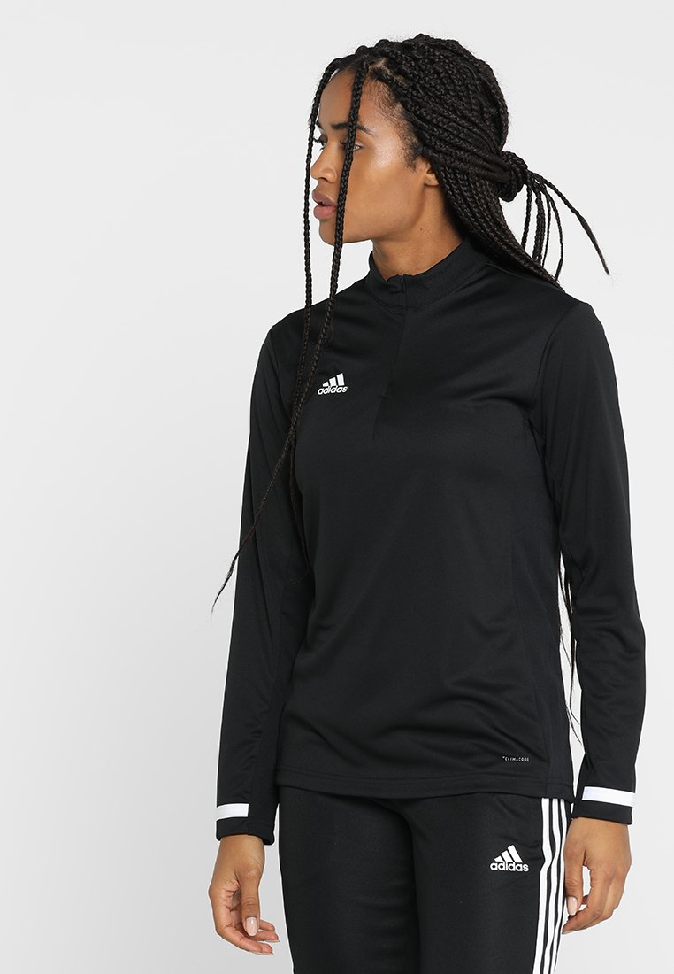 adidas Performance - Sports shirt - black/white