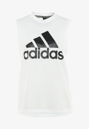 MUST HAVES SPORT REGULAR FIT TANK TOP - Camiseta de deporte - white/black