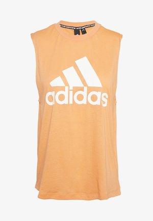 MUST HAVES SPORT REGULAR FIT TANK TOP - Camiseta de deporte - ambtin/white