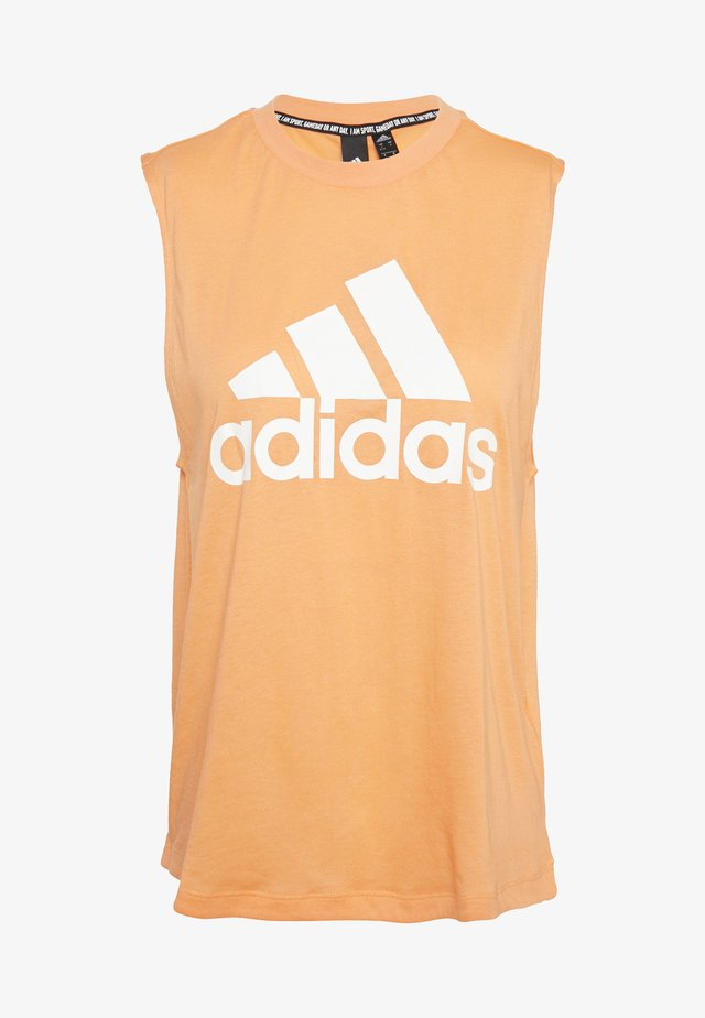 MUST HAVES SPORT REGULAR FIT TANK TOP - Camiseta de deporte - ambtin/white